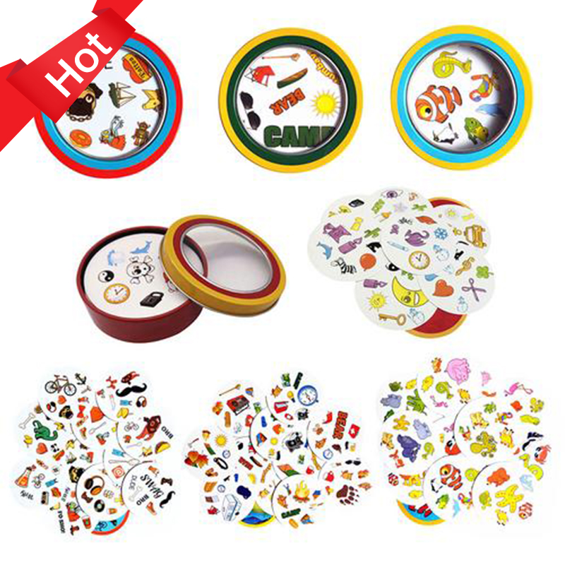 Popular 75mm Spot Board Games Mini Style For Kids Like It Classic Education Card Game English Version Home Party Funny Game