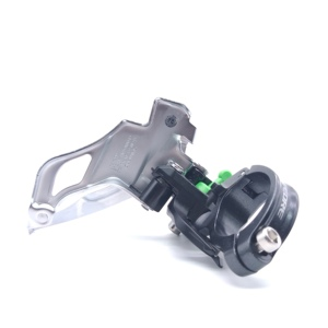 Image 5 - Shimano Deore FD M610 M591 10 30 Speed Triple Top Swing Dual Pull MTB Front Derailleur M591 Mountain Bike Bicycle