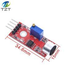 TZT High Sensitivity Sound Microphone Sensor Detection Module For arduino AVR PIC KY-037