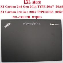46K. 014CS. 0001 для Thinkpad X1 Carbon 2-го и 3-го поколения ноутбука lcd верхняя крышка без касания, WQHD FRU 04X5566 00HN934 604LY22. 04 Новинка