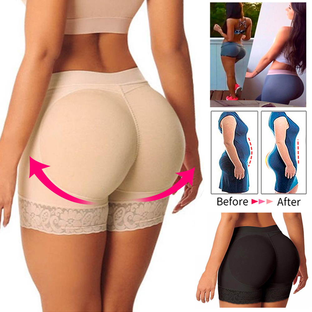 Women S Padded Hip Enhancer Butt Shaper Up Body Underwear Paints Lifter S And As