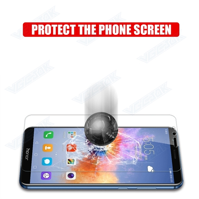 9H Anti-Burst Tempered Glass For Huawei P9 P10 Lite Plus Screen Protector Glas For Honor 8 9 10 Lite Play Protective Film Case 4