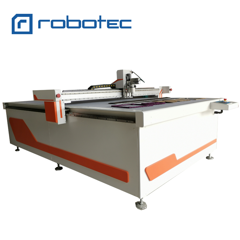 CNC Cardboard Cutting Machine,1625 Oscillating Knife Cutting Machine With CCD Camera