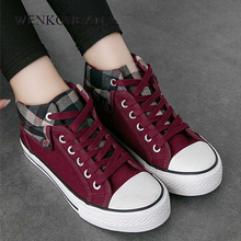 Women Vulcanized Shoes Fashion Sneakers Ladies Canvas