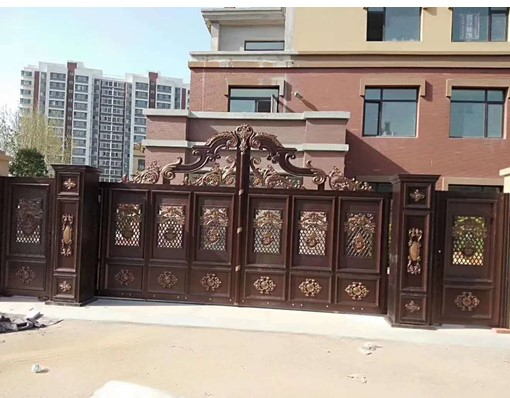Hot Selling Elegant Indian House Main Gate Sliding Door Design