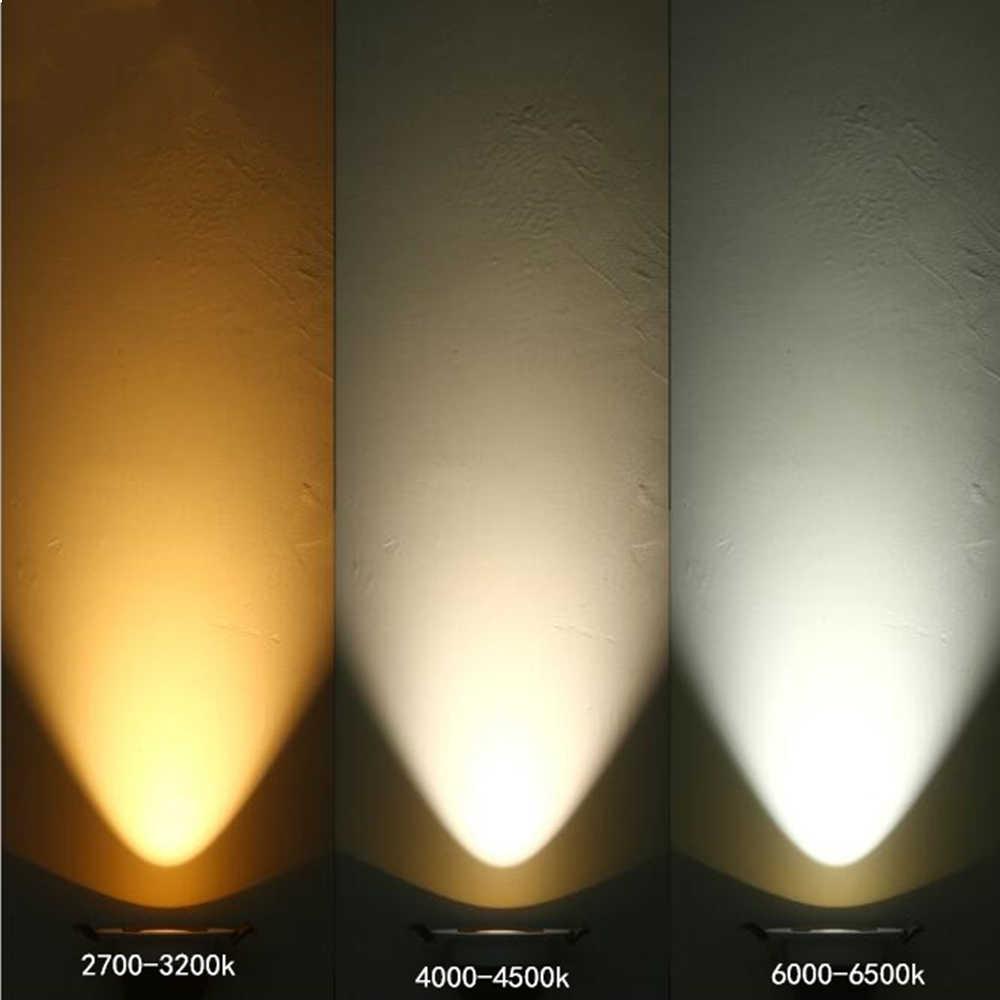 Luce di Soffitto di Superficie Montata Ha Condotto Il Riflettore Cob da Incasso a Soffitto Del Corridoio Corridoio Rotondo Montato Downlight Cabinet Negozio di Abbigliamento