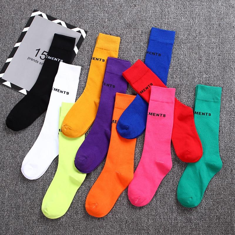 Women's Socks Men Cotton Harajuku Retro Women Loose Socks Winter In Tube Korean Christmas Cute Long Socks Christmas Socks