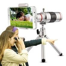 Orsda โทรศัพท์มือถือเลนส์ 18x กล้องโทรทรรศน์ซูมออปติคอลโทรศัพท์มือถือเลนส์ telephoto สำหรับ iPhone Samsung Huawei พร้อม Mini Tripod