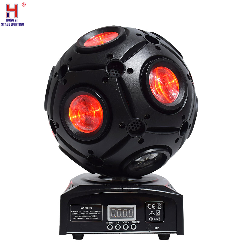 New Design Moving Head Light 9pcs*10W 4in1 RGBW Led Football Moving Head Light Led Beam Stage Light