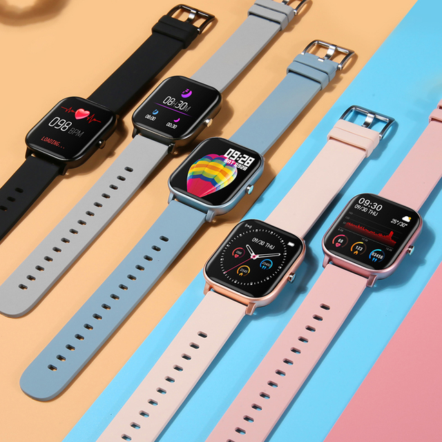 P8 1.4 cal SmartWatch mężczyzn w pełni dotykowy Smartwatch opaska monitorująca aktywność fizyczną pomiar ciśnienia krwi opaska monitorująca aktywność fizyczną inteligentny zegar kobiety inteligentny zegarek