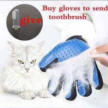 Pet Dog Brush Glove Wool Cat Grooming Gloves For Cats Accessories Small Dogs