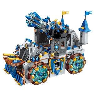 Image 3 - Enlighten construcción del castillo de la Guerra de la gloria para niños, 9 figuras, 1541 piezas, bloques educativos, juguete, regalo