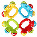 Baby Toys Cartoon Infant Baby Shake Bell Rattles Newborn Toys Hand Toy Rattles Sound Educational Infant Toddler Teether Gift