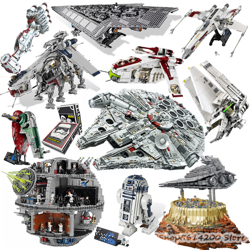 StarWars Series <font><b>05037</b></font> 05053 05026 05027 05028 05041 05042 05046 05063 05035 35005 Building Blocks Bricks Toy Gift 10195 75252 image