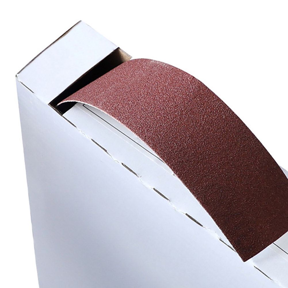 1Roll DIY Polishing 50M Sandpaper Dry Matte Belt Box Roll Soft Sand Cloth Grinding Emery Cloth Roll 150# 240# 320# 400# 600#