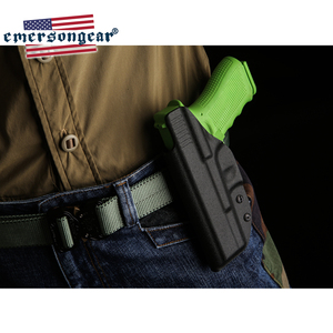 Image 2 - Emersongear Pistol Holster G17 G22 G31 GLOCK Holster Inside Concealed Carry Waistband Pistola Belt Clip Accessories Right Hand