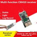 Dsmx DSM2 дистанционный приемник для передатчика Spektrum DX6I DX18 DX8 DX9 DEVO10  REDCON CM410X - 4Ch приемник PPM JST 2 4G