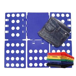Image 2 - マジック洋服フォルダ Tシャツ品質オーガナイザーの服フォルダ子供/大人の布のためのジャンパークイック簡単に