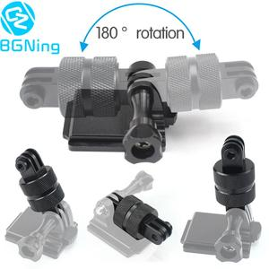 Image 1 - Sports Camera Accessories 360 Degree Rotating Joint Connector Bracket Tripod Mount Adapter for Gopro All Sjcam yi Action Cameras