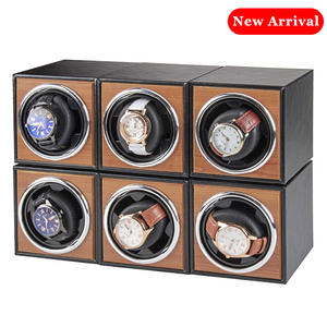 Watch-Winder Storage Wooden Automatic Luxury for Single Box