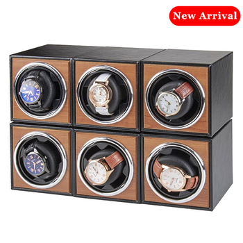 цена Watch Winder for automatic watches single Wooden Watch Accessories Box Watches Storage Luxury онлайн в 2017 году