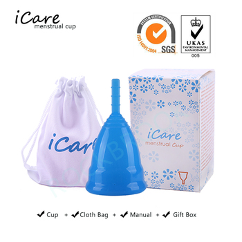 9 pcs Hot Wholesale Reusable Medical Grade Silicone Menstrual Cup Feminine Hygiene Product Lady Menstruation Copo BMC01NV