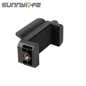 Image 4 - Nuova staffa di supporto per telefono palmare FIMI Sunnylife per accessori per giunto cardanico palmare FIMI PALM