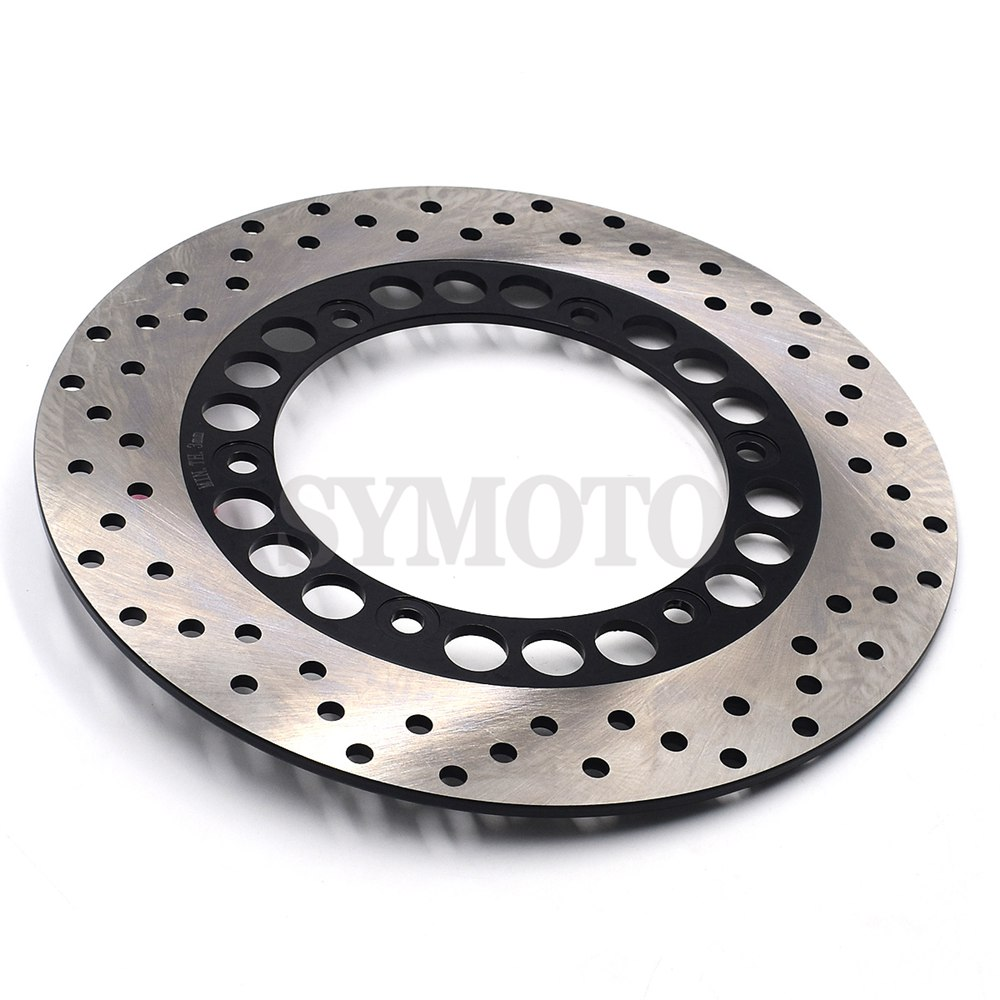 Rear Brake Disc Rotor For <font><b>YAMAHA</b></font> <font><b>TMAX</b></font> XP T-MAX 500 XP500 TMAX500 <font><b>2001</b></font> 2002 2003 2004 2005 2006 2007 2008 2009 2010 2011 image