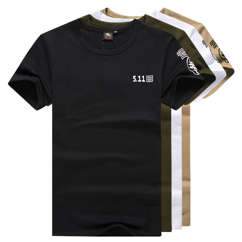Outdoor Army Fans Clothing Men's Special Forces Short Sleeve Tight T-shirt Physical Training Clothes Camouflage Tactical Half Sl