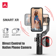 AOCHUAN SMART XR 3-Axis Handheld Stabilizer Smartphone Gimbal Native Phone Camera Control Panorama Mode VS Smooth X