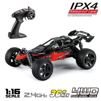 G1711:16 Scale 4WD Remote Control RC Car Speed Racing Vehicle 36km/h Radio ControlledRTR Car Buggy for Kids Adults Birthday