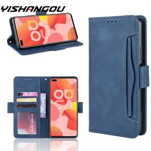 Магнитный кожаный чехол-бумажник с отделением для карт, откидной Чехол для huawei mate 30 Pro Nova 6 SE 5T 3E P30 P20 Lite Honor V30 20 Pro Y9 Prime 2019