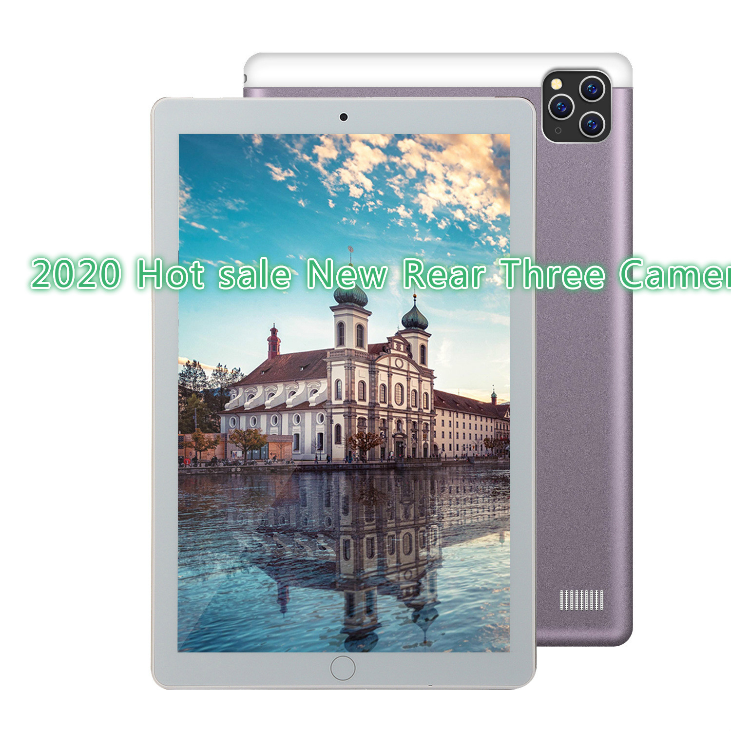 2020 Android 9.0 Tablet PC 10.1inch  6G+128GBTablet Support 4G Dual Card Phone Call 1280*800  Android Kids Tablet