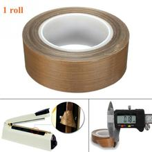 10M PTFE Tape High Temperature 300 Degree Insulation Cloth Tape Vacuum Sealing Machine Insulation Practical Insulation Safe Tape
