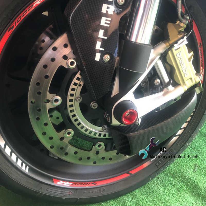 สำหรับ KAWASAKI Ninja 1000 ZX10R ZX-6R 636 2003-2019 ด้านหน้าเบรคแผ่น Cooling ระบบคาร์บอนไฟเบอร์รถจักรยานยนต์อุปกรณ์เสริม