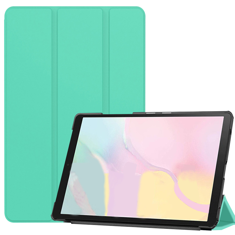 Mint Green Yellow Case ipad Pro 11 2021 A2301 A2459 case PU Leather Tri fold ebook Case Tablets Sleeve