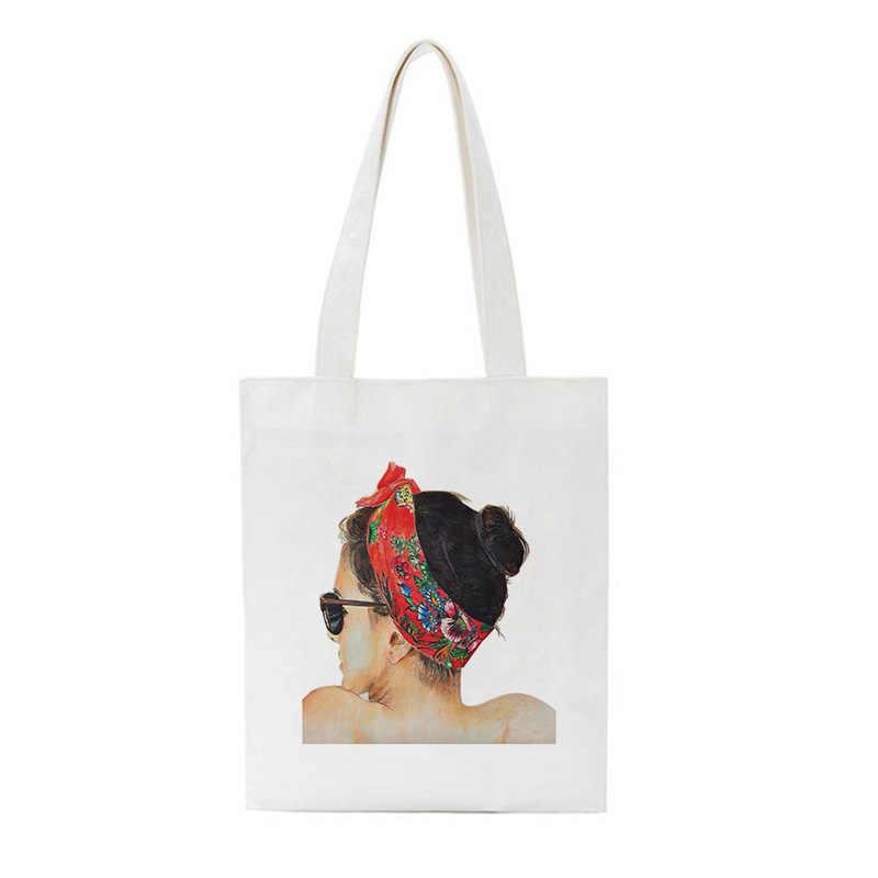 Vogue Neue Mädchen Druck Frühling Sommer Herbst Und Winter Schulter Leinwand Taschen 2019 Casual Große Rucksack Handtasche Brieftasche Frauen Tasche
