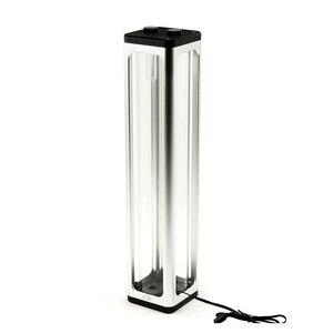 Image 4 - IceMan Cooler 360mm Square Glass Reservoir Water Tank  5v 3pin ARGB Light Strip Motherboard Control Silver ,Black