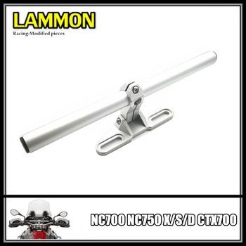 Motorcycle Accessories Stainless Steel handlebar Navigation Bracket For HONDA NC700 NC750 X S CTX700 NC700S NC700X NC750S NC750X