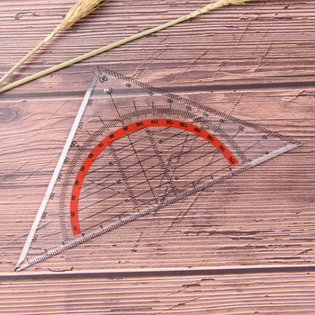 Multifunction Triangular Ruler Scribing Ruler Triangle Rulers Tools 45 Degrees image