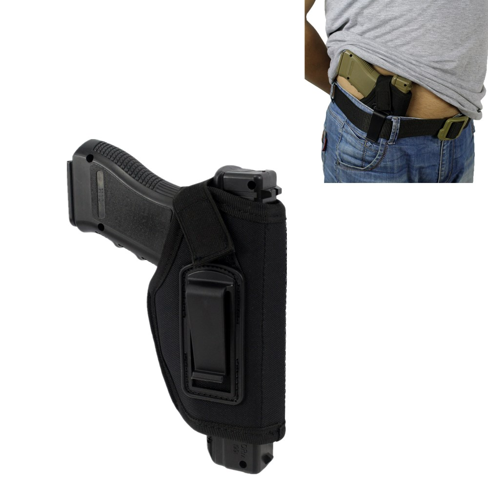 Concealed Belt Holster Right Hand IWB Holster Gun Pouches Hunting Articles Pistols Bag For All Compact Subcompact Pistols