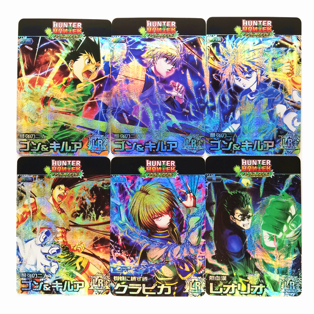 12pcs/set Hunter X Hunter HunterxHunter HxH Toys Hobbies Hobby Collectibles Game Collection Anime Cards