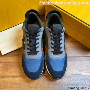Men's Shoes Sneakers Orange-Color Casual New Lace Matching British-Style Genuine-Leather