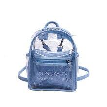 Maison Fabre School Backpack female small backpacks Fashion Waterproof Travel School Backpacks Leather Shoulder Bags    G0520#10 maison fabre jasmine unisex emoji backpacks 3d printing bags drawstring backpack dec20