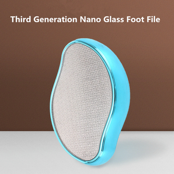 New Nano Glass Foot Grinding Foot Device Single Foot Grinding Stone Pedicure File Peeling Foot Foot File G1209 electric foot grinding device foot repairing and foot repairing artifact