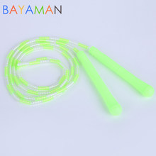 Training Jump Rope Soft Bamboo Protective Jump Rope Kids Outdoor Games Good Exercise Toys Gift for Children(China)