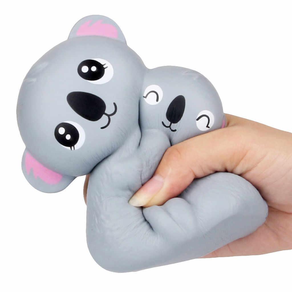 Mini Entzückende Koala-kombination Langsam Rising Duft Stressabbau Spielzeug Für Kinder Антистресс Игрушки