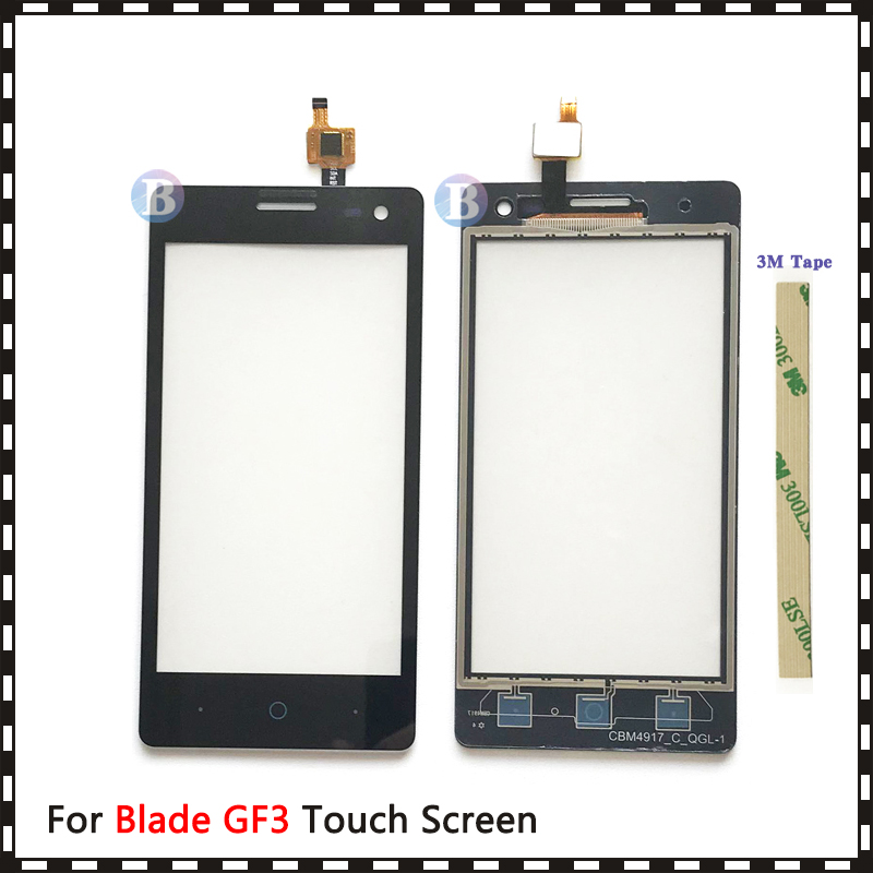 "Replacement High Quality 4.5"" For ZTE Blade GF3 T320 V831 Touch Screen Digitizer Sensor Outer Glass Lens Panel(China)"