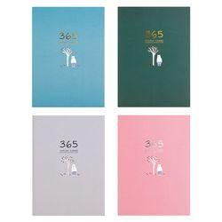 Śliczne biurowe notatnik 365 Planner tygodniowy miesięczny dzienny terminarz planer notebooki czasopisma biuro biznesowe szkolne w Planery od Artykuły biurowe i szkolne na