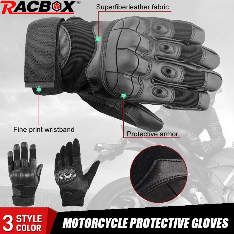 Motorrad Schutz Handschuhe Harte Knuckle Volle Finger Herren Touchscreen Taktische Getriebe Moto Motorrad Biker Racing Handschuhe